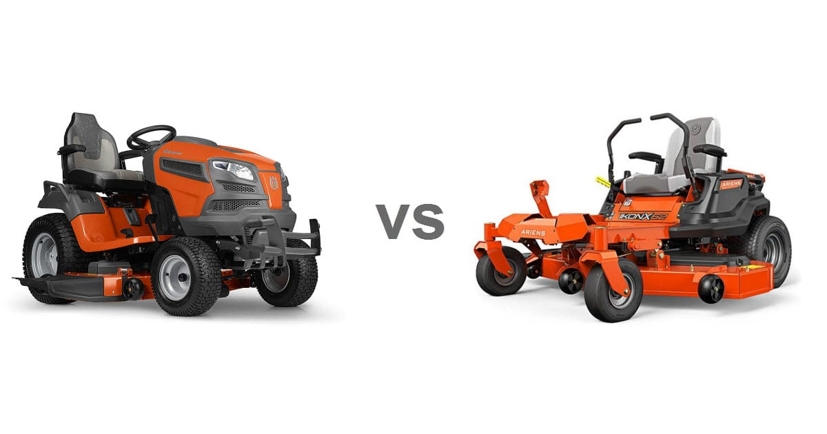 Zero Turn Vs Lawn Tractor For Hills Which Is Better Why Lawn Chick